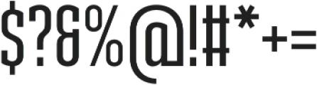 Ristretto Slab Pro Medium otf (500) Font OTHER CHARS