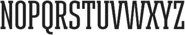 Ristretto Slab Pro Medium otf (500) Font UPPERCASE