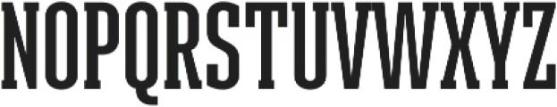 Ristretto Slab Pro SemiBold otf (600) Font UPPERCASE