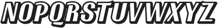Ritts Shadow otf (400) Font UPPERCASE