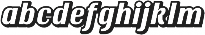 Ritts Shadow otf (400) Font LOWERCASE