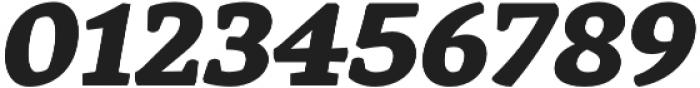 Rival Black Italic otf (900) Font OTHER CHARS