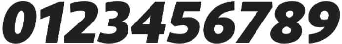 Rival Sans Black italic otf (900) Font OTHER CHARS