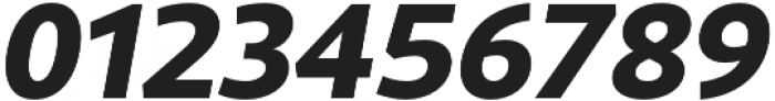 Rival Sans ExtraBold italic otf (700) Font OTHER CHARS