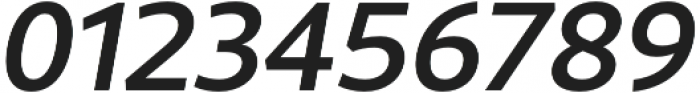 Rival Sans Medium italic otf (500) Font OTHER CHARS