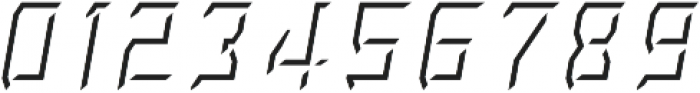 Rivalry 0117 Light BEVEL Highlight Italic ttf (300) Font OTHER CHARS