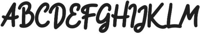 River otf (400) Font UPPERCASE
