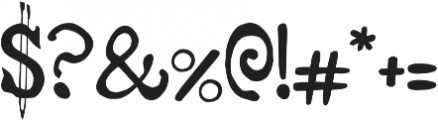 RiverLiffey otf (400) Font OTHER CHARS