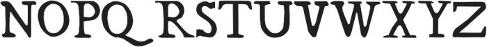 RiverLiffey otf (400) Font UPPERCASE