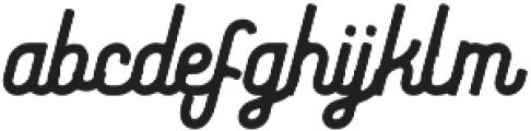Riverfall 2 Semibold otf (600) Font LOWERCASE