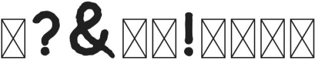 Riverfall Textured Sans 1 otf (400) Font OTHER CHARS