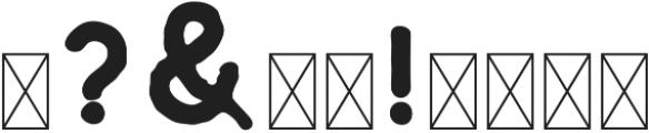 Riverfall Textured Sans 2 otf (400) Font OTHER CHARS