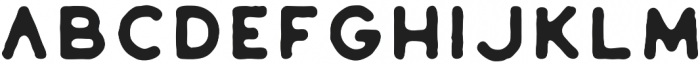 Riverfall Textured Sans 2 otf (400) Font UPPERCASE