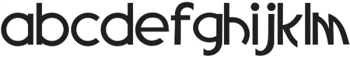 Rivernia Regular otf (400) Font LOWERCASE
