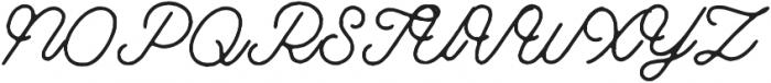 Riverside Rough otf (400) Font UPPERCASE