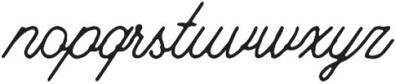 Riverside Rough otf (400) Font LOWERCASE