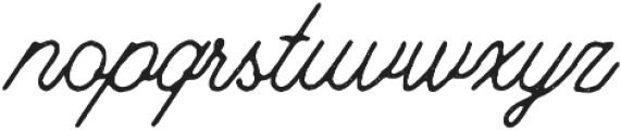 Riverside Stamp otf (400) Font LOWERCASE