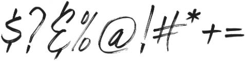 Riverstyle Font Regular otf (400) Font OTHER CHARS