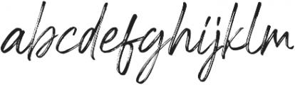 Riverstyle Font Regular otf (400) Font LOWERCASE