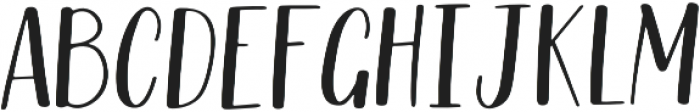 Riverwood Hand otf (400) Font UPPERCASE
