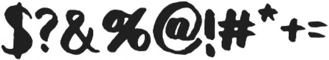 Rivina TC Brush otf (400) Font OTHER CHARS