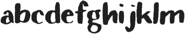 Rivina TC Brush otf (400) Font LOWERCASE