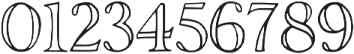 Rivina TC Outline otf (400) Font OTHER CHARS