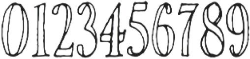Rivina TC Pen Cn Outline otf (400) Font OTHER CHARS