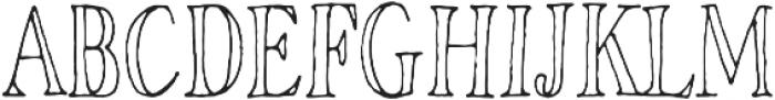 Rivina TC Pen Cn Outline otf (400) Font UPPERCASE