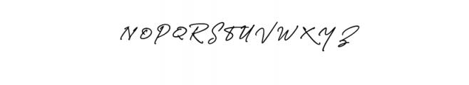 Richland.ttf Font UPPERCASE
