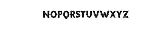 Riotic Typeface Font LOWERCASE