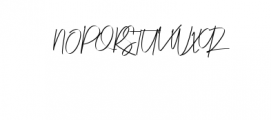 Risotto Font UPPERCASE