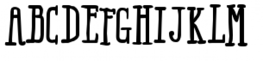 Ride my Bike Serif Pro Bold Font UPPERCASE