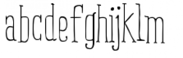 Ride my Bike Serif Pro Regular Font LOWERCASE