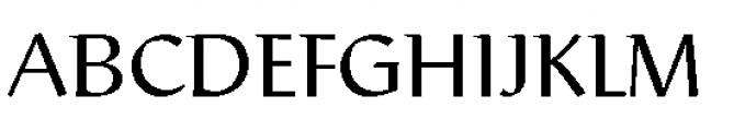 Rieven Uncial Pro Regular Font UPPERCASE