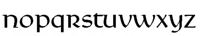 Rieven Uncial Regular Font LOWERCASE
