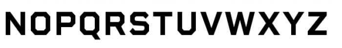 Rigid Square Bold Font UPPERCASE