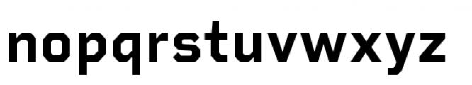 Rigid Square Bold Font LOWERCASE