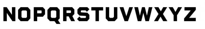Rigid Square Extra Bold Font UPPERCASE