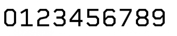Rigid Square Regular Font OTHER CHARS