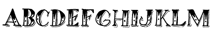 RICH THE BARBER PERSONAL USE  Font LOWERCASE