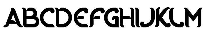 RIDING THE WORLD Font UPPERCASE