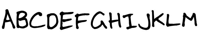 RIGG Font Font UPPERCASE