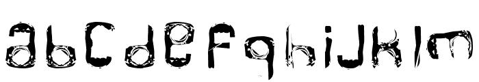RINGPULL 1 Font UPPERCASE