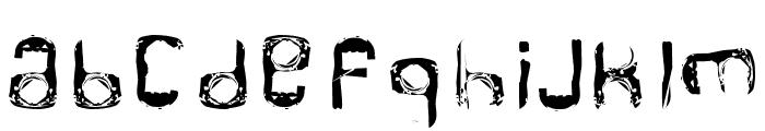 RINGPULL 1 Font LOWERCASE