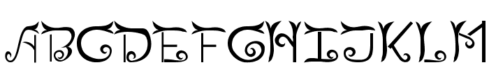 Riau Font UPPERCASE