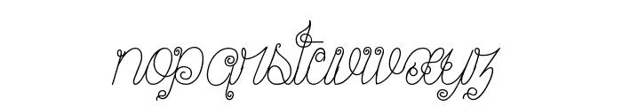 Ribambelle Font LOWERCASE