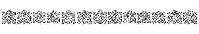 Ribbon Caps Font UPPERCASE