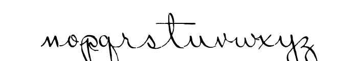 Ribbon in the Sky Font LOWERCASE