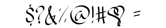 RibbonOfhope Font OTHER CHARS